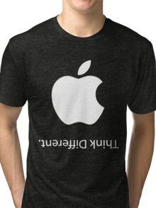 Apple - Think Different (Black) Tri-blend T-Shirt