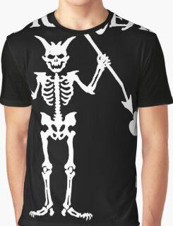 Black Beards Flag Graphic T-Shirt
