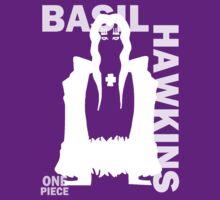 Supernova Basil Hawkins Vector WHITE by pandapop23