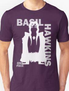 Supernova Basil Hawkins Vector WHITE Unisex T-Shirt