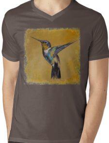 Hummingbird Mens V-Neck T-Shirt