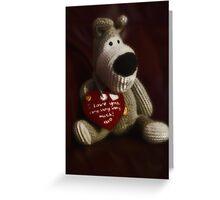 Boofle love Greeting Card