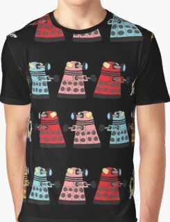 Doctor Who stuck in pac man Graphic T-Shirt