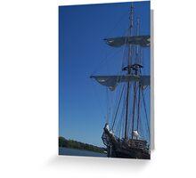 Shall we set sail ? Greeting Card