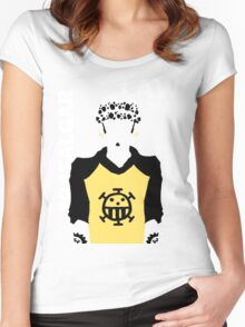 Supernova Trafalgar Law Vector Women's Fitted Scoop T-Shirt
