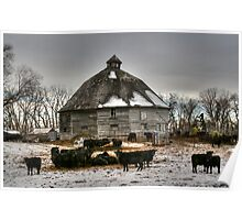 10 Sided Barn Poster