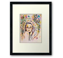 Pillow talk Framed Print