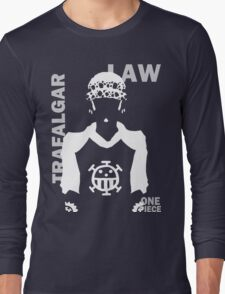 Supernova Trafalgar Law Vector WHITE Long Sleeve T-Shirt