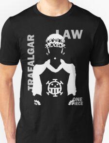 Supernova Trafalgar Law Vector WHITE T-Shirt
