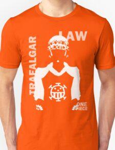 Supernova Trafalgar Law Vector WHITE Unisex T-Shirt