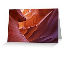 """Antelope Canyon Sunrise"" Greeting Card"