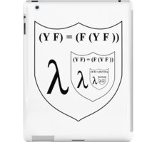 Recursion is a fixed-point combinator iPad Case/Skin