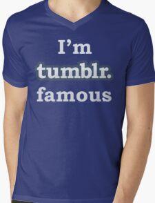 I'm Tumblr Famous Mens V-Neck T-Shirt
