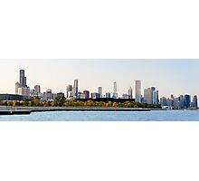 Chicago Skyline Panorama Photographic Print