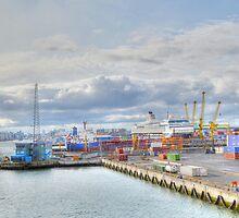 Dublin Dockland   by Ferdinand Lucino