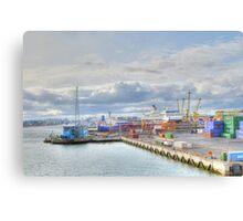 Dublin Dockland   Canvas Print