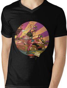 Tank Girl Mens V-Neck T-Shirt