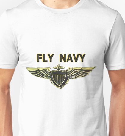 Naval Aviator Wings Unisex T-Shirt