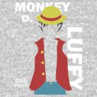 Supernova Monkey D. Luffy Vector by pandapop23