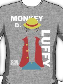 Supernova Monkey D. Luffy Vector T-Shirt
