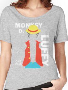 Supernova Monkey D. Luffy Vector Women's Relaxed Fit T-Shirt