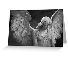 Solitary Angel Greeting Card