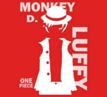Supernova Monkey D. Luffy Vector WHITE by pandapop23