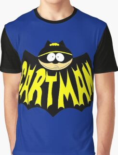 Cartman 1960's Logo Mashup Graphic T-Shirt