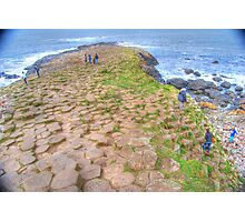 Mythical steeped -Giant's Causeway Photographic Print