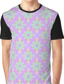 Vintage Moroccan Pattern in Lavender Graphic T-Shirt