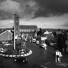 Chapel and Chapel roundabout. by Fred Taylor