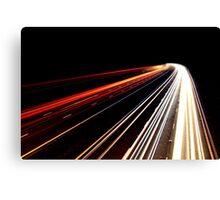 Midnight Traffic Canvas Print