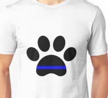 paw thin blue line Unisex T-Shirt