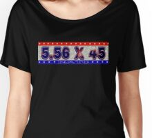5.56 X 45  NATO Women's Relaxed Fit T-Shirt