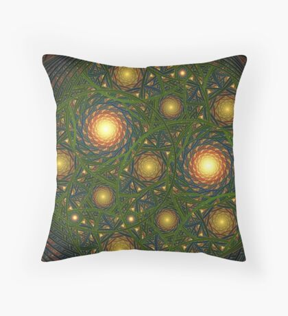 Search Lights Throw Pillow