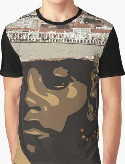 Luanda Beach, Africa Graphic T-Shirt