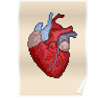 16-Bit Troubles for an 8-Bit Heart Poster
