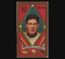 Benjamin K Edwards Collection John Quinn New York Yankees baseball card portrait Kids Tee