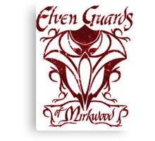 Elven Guards of Mirkwood The Lord of the Rings Canvas Print