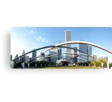 Millennium Park Chicago Panorama Canvas Print