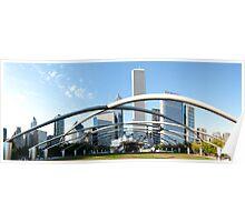 Millennium Park Chicago Panorama Poster