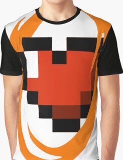 Portal Lover ! Orange Graphic T-Shirt