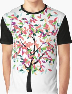 Colorful Tree 2 Graphic T-Shirt