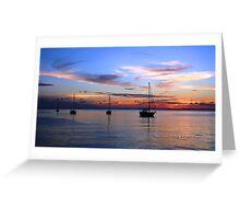 Sunset Serenity Greeting Card