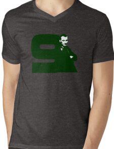 Doctor Who 9 Green Mens V-Neck T-Shirt