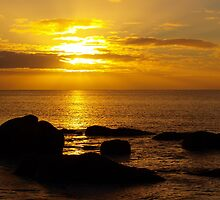 Dunsborough Bay Sunrise by kalaryder
