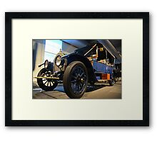 Italian roots, American made > Framed Print