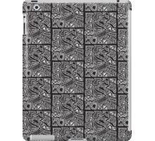 Abstract B&W iPad Case/Skin