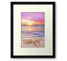 Rainbow Dust Framed Print