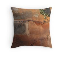 Growth in the Winter Sun! Throw Pillow
